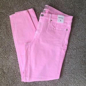 NWT Bubble Gum Pink J Crew Jeans